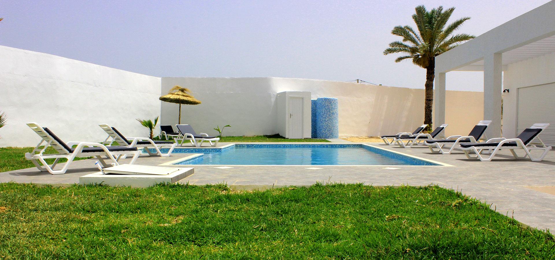 Maison à louer Djerba Tunisie