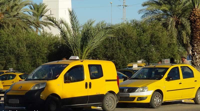 Taxi et course sur l'île de Djerba